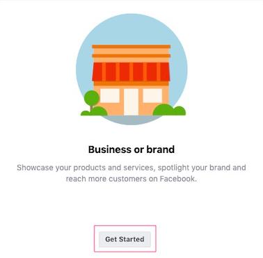 You are creating the Facebook page for your business